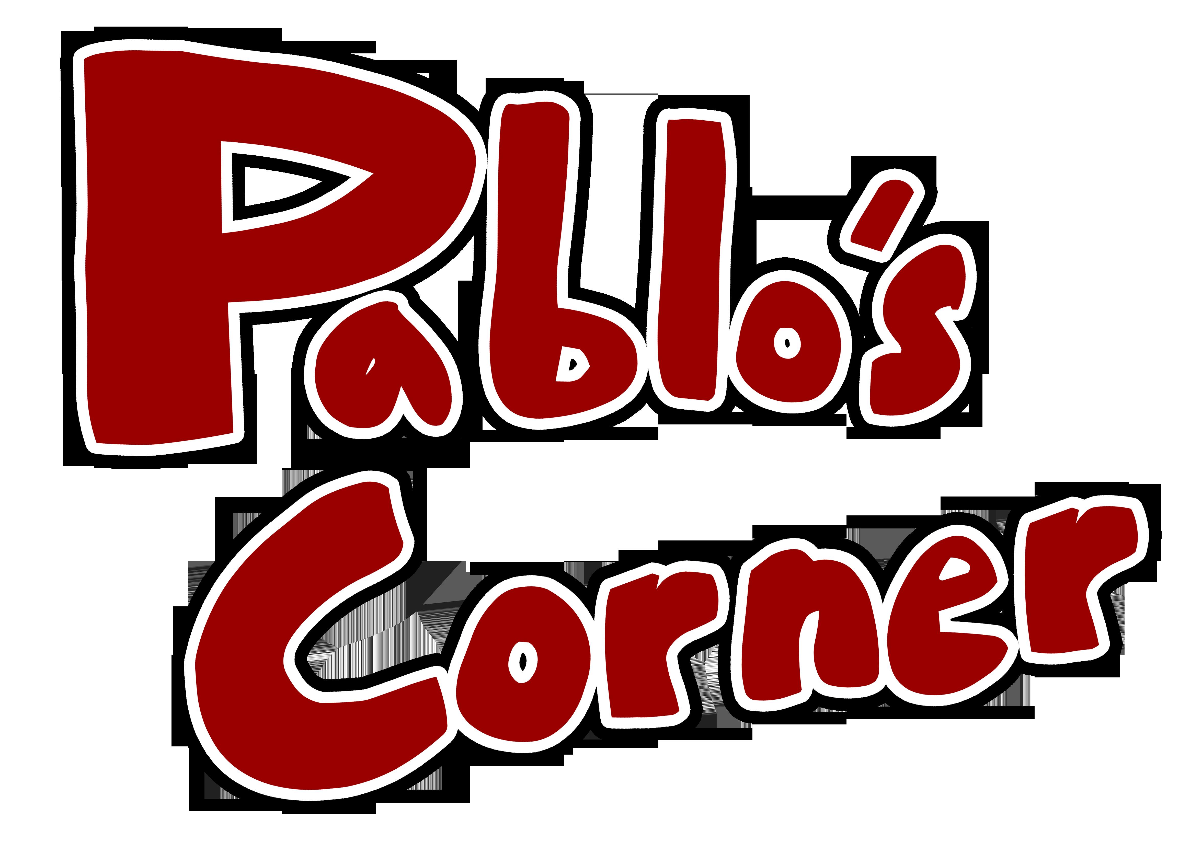 Pablo's Corner Website Logo